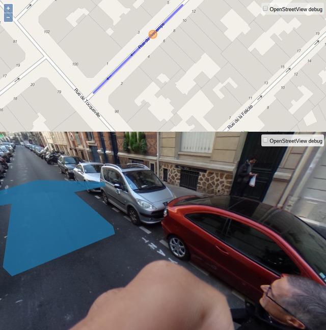 Prototyp des Projekts OpenStreetView.io für 360° Panoramaaufnahmen